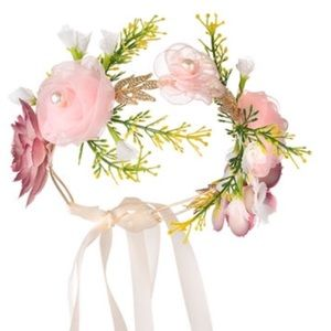Accessories - Flower crown brand new with box